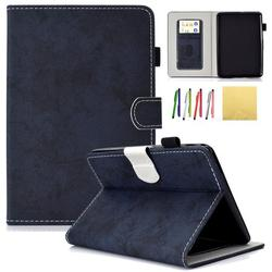 Kindle Paperwhite 2018 Case, Allytech Premium PU Leather Smart Folio Stand Wallet Case Cover with Auto Wake/Sleep Fits All-New Amazon Kindle Paperwhite 10th Generation E-Reader, Darkblue
