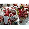Toy Santa Decoration Snowman Christmas Santa Claus-12 Inch BY 18 Inch Laminated Poster With Bright Colors And Vivid Imagery-Fits Perfectly In Many Attractive Frames