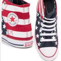 Converse Shoes | Chuck Taylor All Star Slip-On Sneakerconverse S:5 | Color: Blue/Red/White | Size: 5