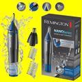 Remington Nano Série Lithium Nez Cheveux Barbe Sourcils Rechargeable Tondeuse Électrique Électrique