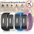Bracelet répulsif de moustiques à ultrasons, Bracelet de poignet anti-insectes, antiparasitaire pour