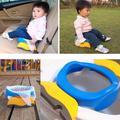 Siège de pot de voyage bébé 2 In1 Portable siège de toilette en plastique enfants confortable