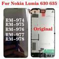 Écran tactile LCD, OEM, pour Nokia Lumia 630 635