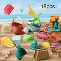 Jianjun Kids Beach Toy Set Kids Sand Water Bucket with Shovel Rakes Animal Mold for Boys Girls Outdoor Funny Game Suitable Summer Beach Pool Party Toy