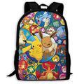 Anime backpack Travel Bags Laptop Backpacks Cartoon Bag Adjustable Shoulder Strap Bookbag Outdoor Sports Unisex 17IN