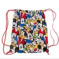 Disney Accessories | Disney Drawstring Bag Mickey Mouse Minnie Mouse | Color: Red/White | Size: 8x12