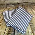Levi's Dining | Levi'S X Target Large Striped Flour Sack Towel | Color: Blue/White | Size: 30 X 30