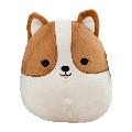 "Squishmallows Kellytoy Official 12"" Regina the Corgi Dog Plush Doll Super Soft"