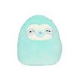 "Squishmallows Kellytoy Official 2021 Sleepy Eye 8"" Aqua the Sloth Plush Doll Super Soft"