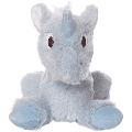 Manhattan Toy Floppies Baby Unicorn 7 Stuffed Animal, Blue