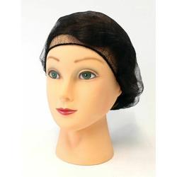 "Honeycomb Nylon Hairnet Latex Free Hair Net Sizes: 18"" - 21"" - 24"""