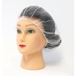 Food Service Hair Nets, Latex Free, White, 18 Inches, 4000 Pack