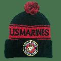 Pom Pom Knit Hat Marines