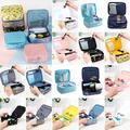 Waterproof Portable Makeup Bag Train Case ,Travel Makeup Case Storage Cosmetic Organizer with Dividers for Women Men Cosmetic Make-Up Tools Skin Care Toiletry Jewelry