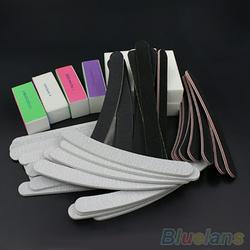 Besufy Fashion Nail File ,13 Pcs/Set Nail Art Sanding Files Buffer Block Acrylic UV Gel Manicure Tool