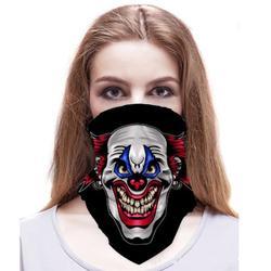 Multifunctional Full Tube Headwear Balaclava Headband Neck Gaiter, Joker 1