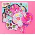 Yinrunx Kid Makeup for Girls/Makeup Set for Kids/Kids Makeup/Girl Makeup Kit/Makeup for Kids/Makeup for Kids 4-6/Kids Makeup Kit for Girl/Play Makeup for Little Girl Lollipop Cosmetics Beauty Toy