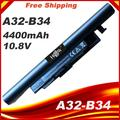 A41-B34 A32-B34 A31-C15 Batterie pour Haier S500 Medion S4209 S4211 S4216 S4611 k560 K56L K5