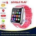 Montre connectée 4G, GPS, Bluetooth, caméra, musique, appel vidéo, Whatsapp, localisation, pour