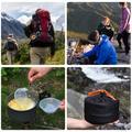 Ensemble d'ustensiles de cuisine de Camping, ensemble de casseroles, de pique-nique, de randonnée en