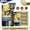 Machine de rasage pour Gillette Fusion 5 Proshield, rasoir manuel, têtes, Cassettes, lame droite,