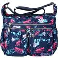 Vbiger Women Cross-body Bag Classic Travel Shoulder Bag Trendy Messenger Bag Large-capacity Nylon Cross-body Bags