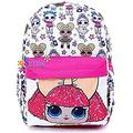 Backpack - Surprise - White All-over 16 School Bag 002664