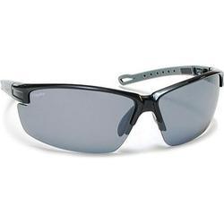 Coyote Eyewear 680562043082 Napa Polarized Street & Sport Sunglasses, Black, Gray & Silver Frame