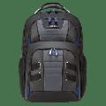 "Targus 15.6"" DrifterTrek Checkpoint-Friendly Backpack, Black/Gray - TSB927US"