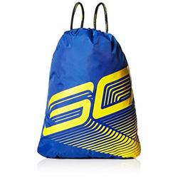 Under Armour Unisex SC30 Blue Yellow Backpack Sackpack 1311051-400