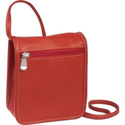 Le Donne Leather Flap Over Mini Crossbody Bag H-62A