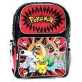 "Backpack - Pokemon - Pikachu Plusle & Minun 16"" School Bag New 850064"