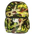 Camo Sequin Backpack Deluxe School Bag or Travel Backpack 16 inches