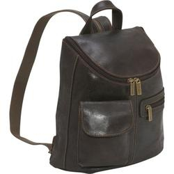 Le Donne Leather Distressed Leather Womens Back Pack/Purse DS-9109