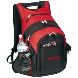 Deluxe Laptop Backpack Student Computer Bookbag School Book Bag Travel Rucksack Tablet Daypack Red