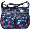 Women Cross-body Bag Waterproof Shoulder Bag Fashionable Casual Handbag Large-capacity Nylon Cross-body Bags