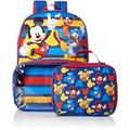 Mickey Backpack with Lunch Window Pocket And Lunch Bag Box Carrier