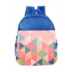 80s Retro Geometric Kids Backpack Toddler