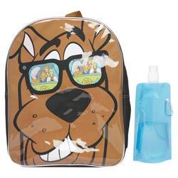 Scooby Doo Backpack Combo Set - Scooby Doo Boys 3 Piece Mini Backpack Set - Mini Backpack, Water Bottle and Carabina (Scooby Mini)