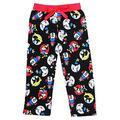 [P] Disney Juniors' Minnie Mouse Pajama Capri Pants - Red & Black (LG)