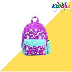 Smily kiddos Fancy Junior Backpack (Purple) kids backpack School Backpack Backpack for kids Kids School backpack Purple Color Backpack Birthday Retruns Gifts for Girls