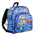 Wildkin 40111 Heroes Olive Kids 12 Inch Backpack, Pack N Snack