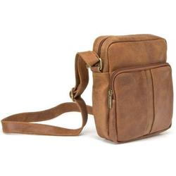 Le Donne Leather Distressed Leather Mens Day Bag DS-1505