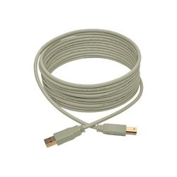 Tripp Lite 15ft USB 2.0 Hi-Speed A/B Cable (M/M), Beige
