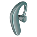 Bluetooth Headset, Wireless Bluetooth Earpiece V5.0 35 Hrs Talktime Hands-Free Earphones with Noise Cancellation Mic Compatible for Most Phone GREEN