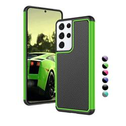 """Galaxy S21 Ultra Case, Cover Case for Galaxy S21 Ultra 6.8"""", Njjex Shock Absorbing Dual Layer Silicone & Plastic Bumper Rugged Grip Hard Protective Cases Cover for Samsung Galaxy S21 Ultra 5G 2020"""