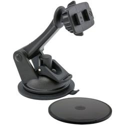 Replacement or Upgrade Windshield or Dashboard Sticky Suction Mount with 3 inch Arm for Arkon Dual T Holders and Magellan GPS