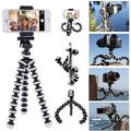 Phone Tripod, Gvieevol Octopus Tripod with Wireless Remote, Phone Holder Mount Use as iPhone Tripod, Cell Phone Tripod, GoPro Tripod, Camera Tripod, Travel Tripod,Tabletop Tripod for iPhone-1PACK