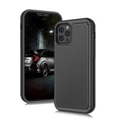 iPhone 12 Pro Max Case, Sturdy Case for iPhone 12 Pro Max 2020, Njjex Shock Absorbing Dual Layer Silicone & Plastic Bumper Rugged Grip Hard Protective Cases Cover for Apple iPhone 12 Pro Max