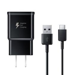Adaptive Fast Charger Compatible with LG V30 Plus [Wall Charger + Type-C USB Cable] Dual voltages for up to 60% Faster Charging! BLACK - New